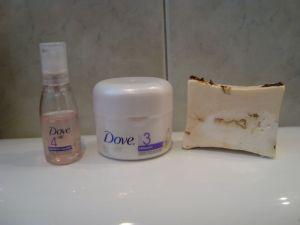 Dove & Jabón de Rosas
