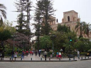 Plaza Abdón Calderón