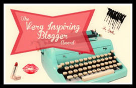 Very Inspiring Blogger Award Fancy