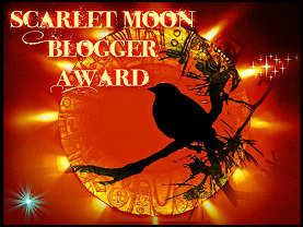 Scarlet Moon Blogger Award